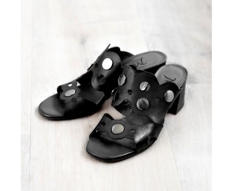 PE // Sandales Praggy Noir