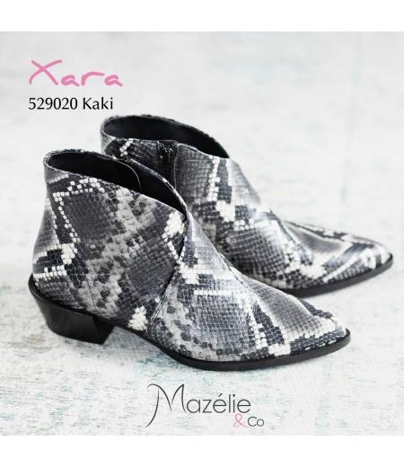 Boots Xara Python Kaki