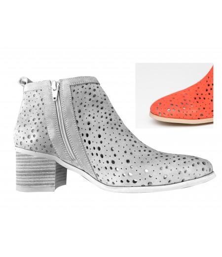 PE // Boots Milena Rouge Zip