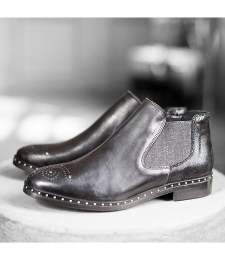 Boots Elisa Noires