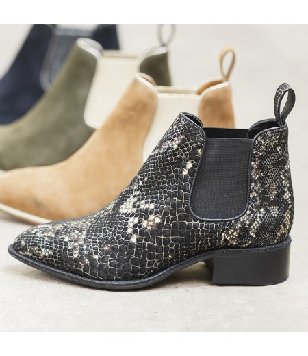 Boots Atia Python Or