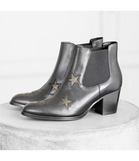 AH // Boots Gléna Etoiles Noires