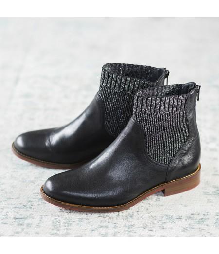 Boots Laila Noires