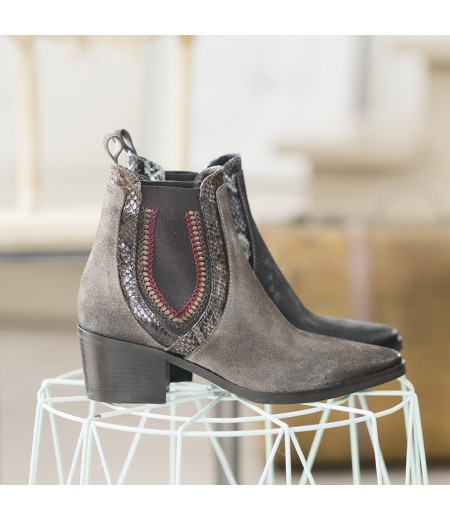 Boots Casy Taupe